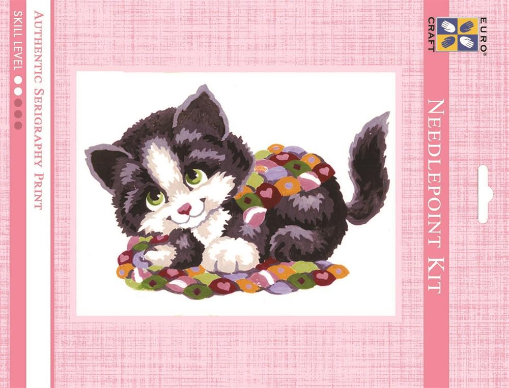 Grafitec Patchwork Kitten Tapestry Kit