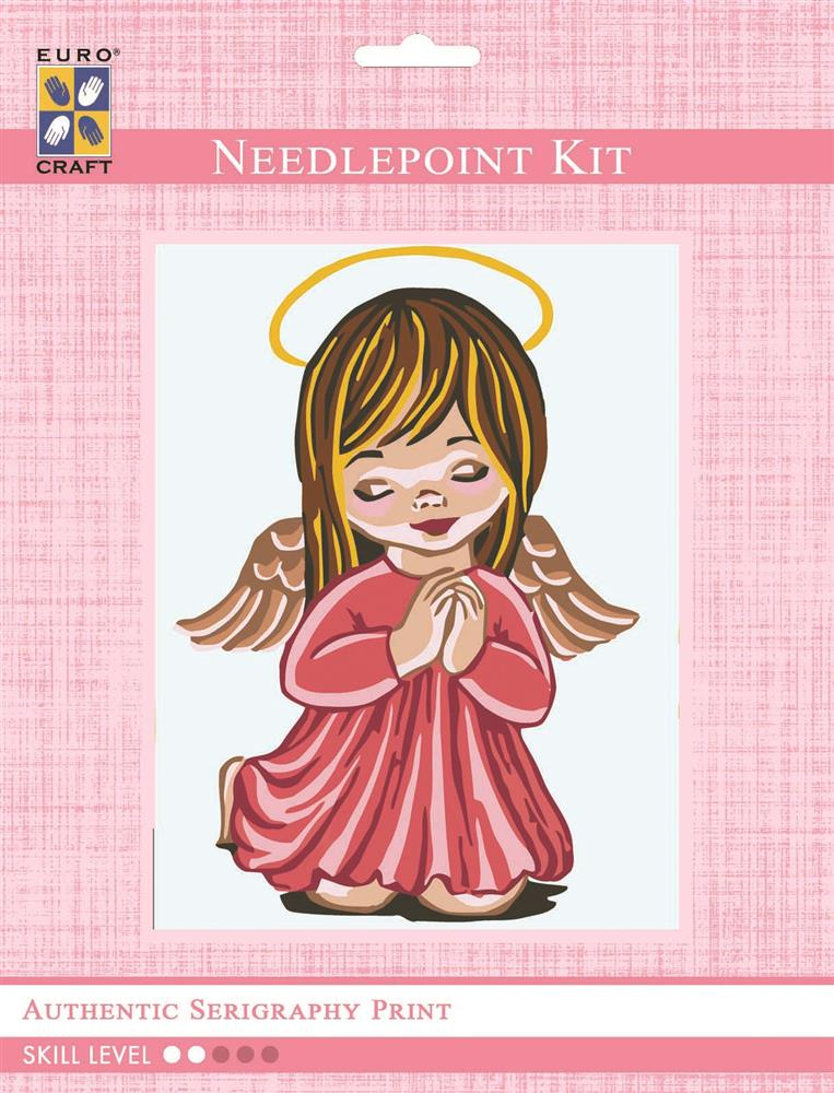 Girl Angel Praying -  Tapestry Kit