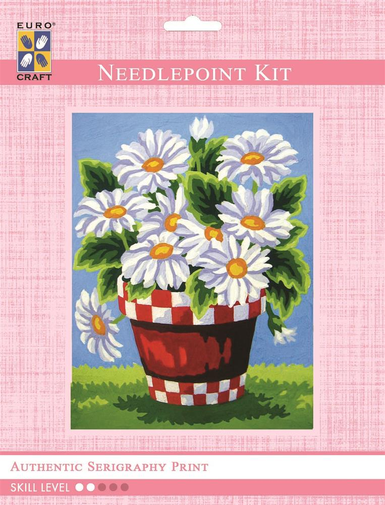 White Daisies -  Tapestry Kit