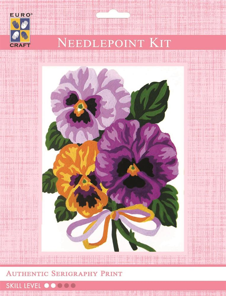 Bouquet of Pansies -  Tapestry Kit