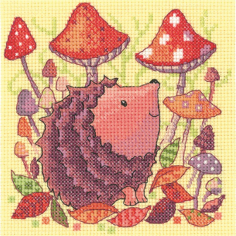 Hedgehog -  Cross Stitch Kit