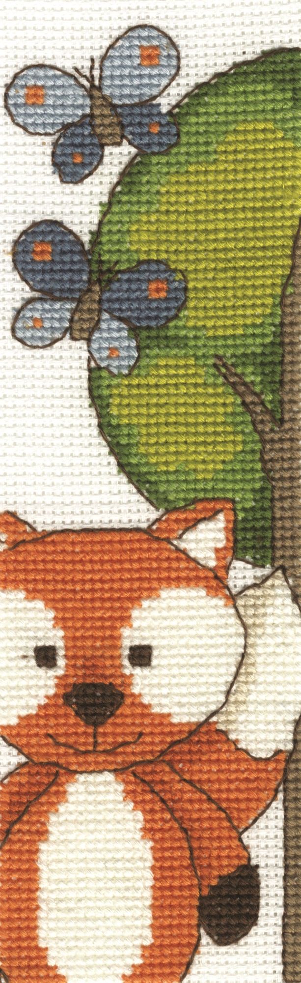 Butterfly Fun Bookmark -  Cross Stitch Kit