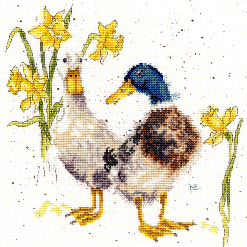 Bothy Threads Ducks and Daffs Cross Stitch Kit