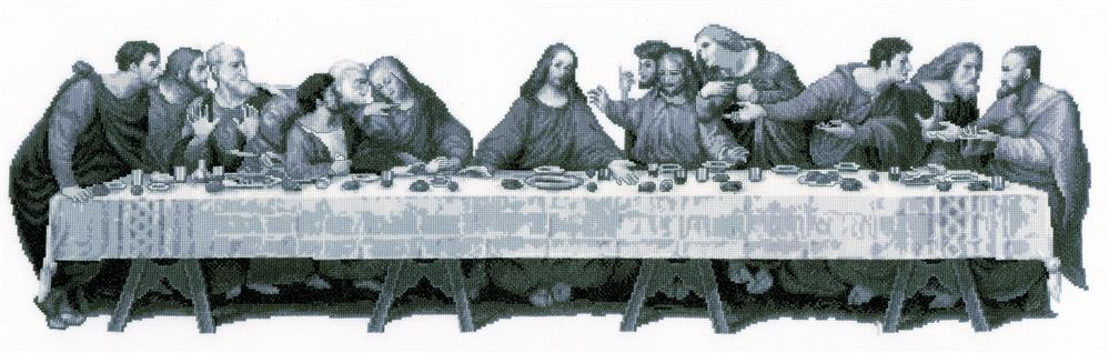 The Last Supper -  Cross Stitch Kit