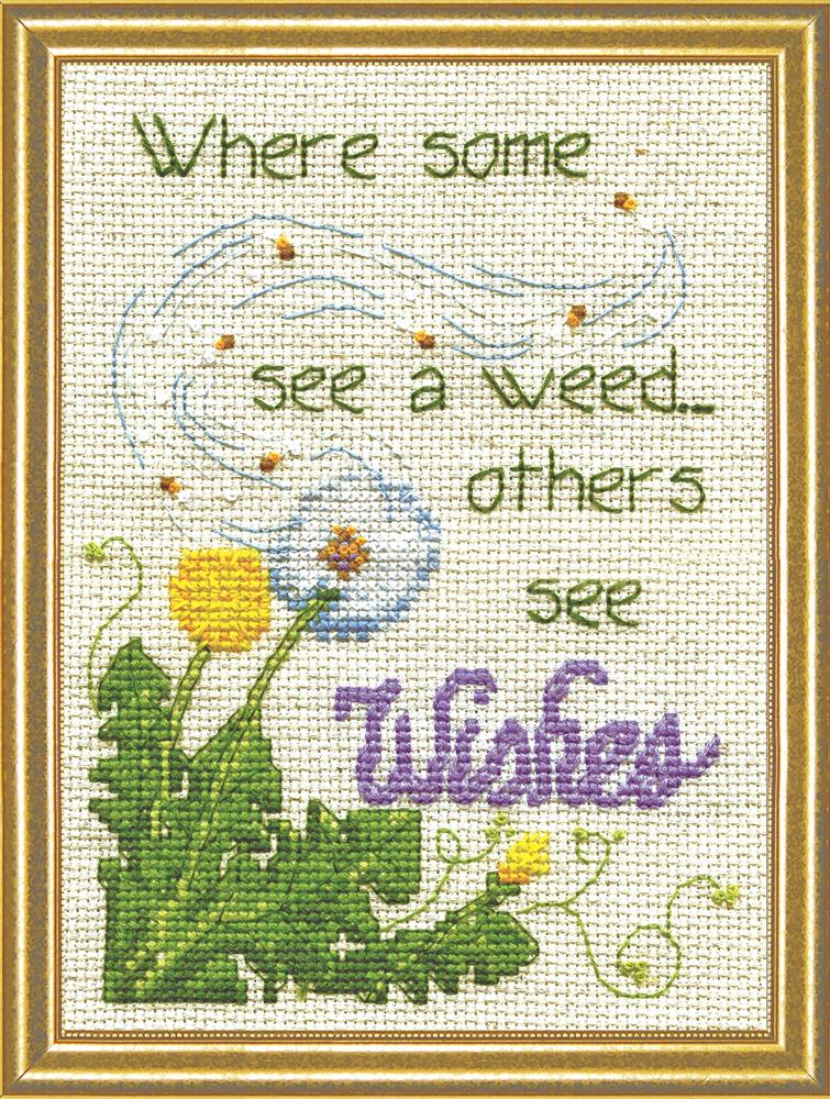 Design Works Crafts Dandelion Wishes Cross Stitch Kit