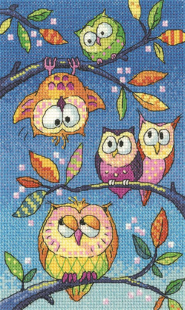 Hanging Around - Aida -  Cross Stitch Kit