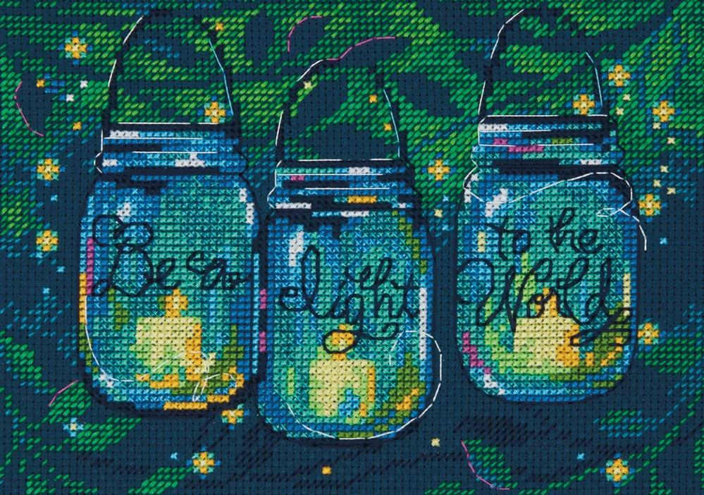 Dimensions Be a Light Cross Stitch Kit