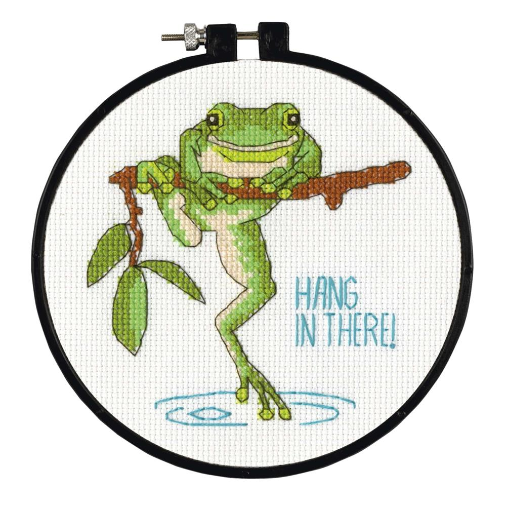 Hanging In -  Cross Stitch Kit