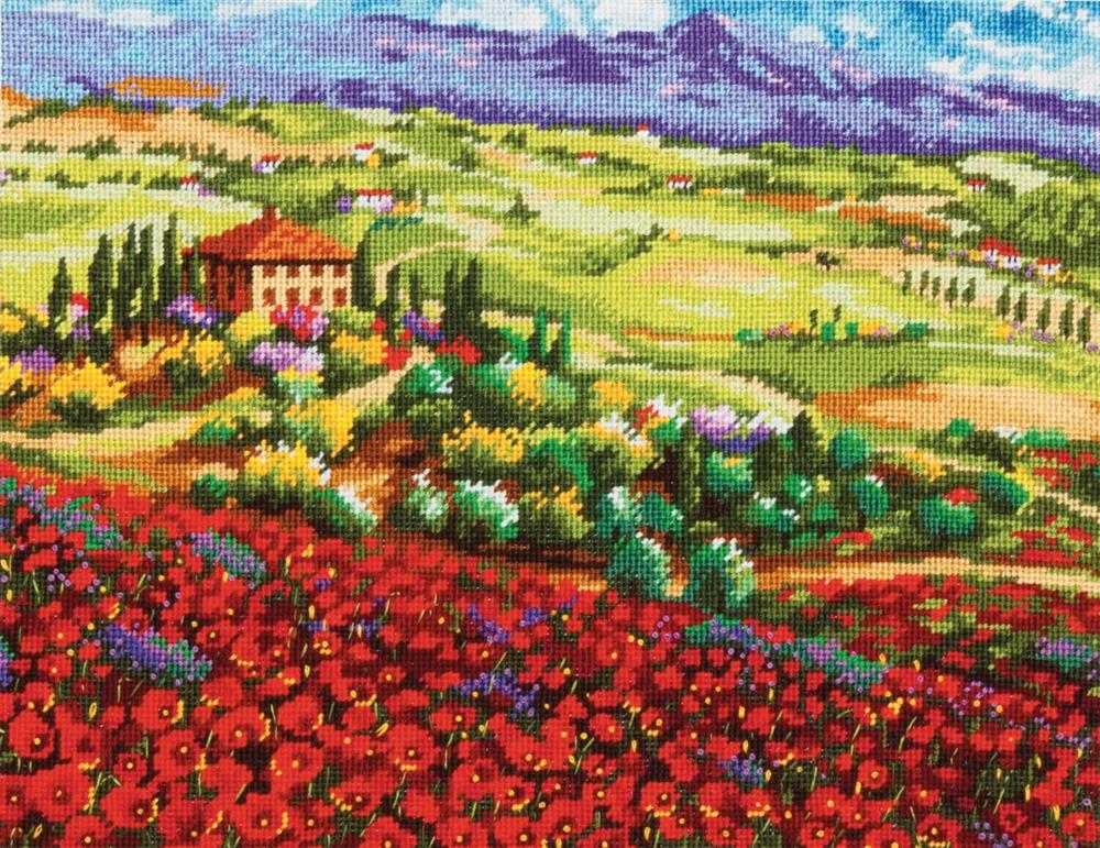 Tuscan Poppies -  Tapestry Kit