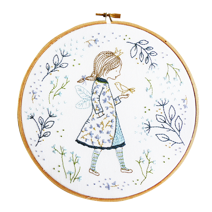 Winter Fairy -  Embroidery Kit