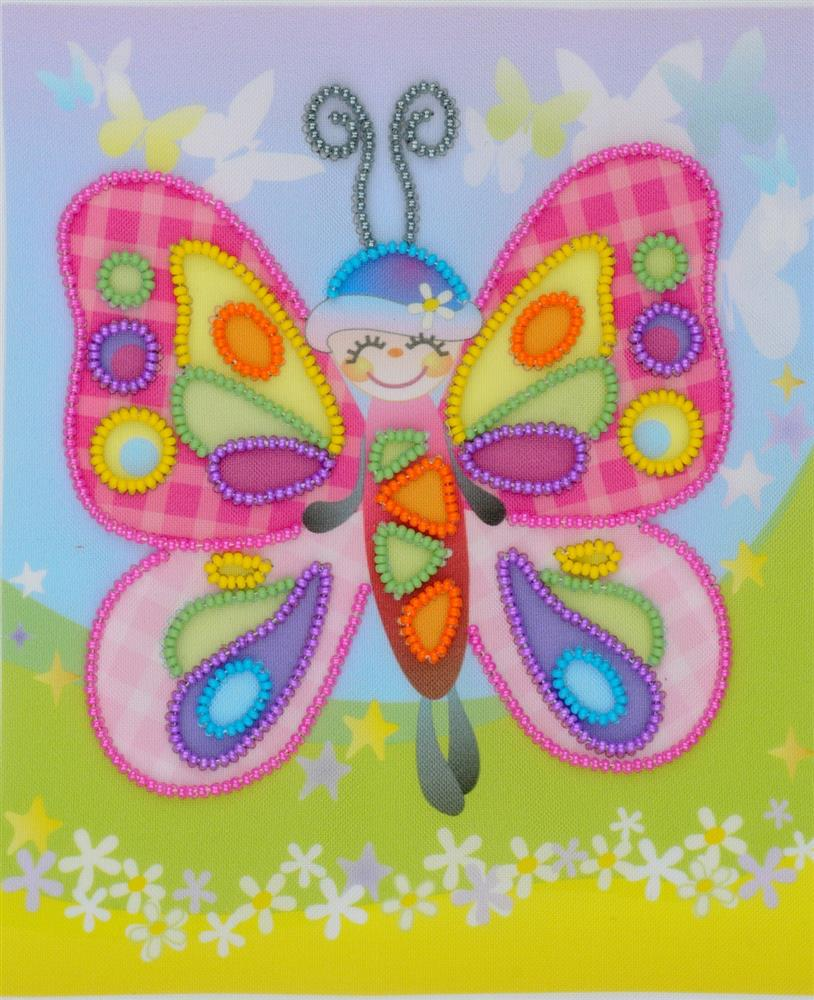 Fairytale Butterfly -  Embroidery Kit