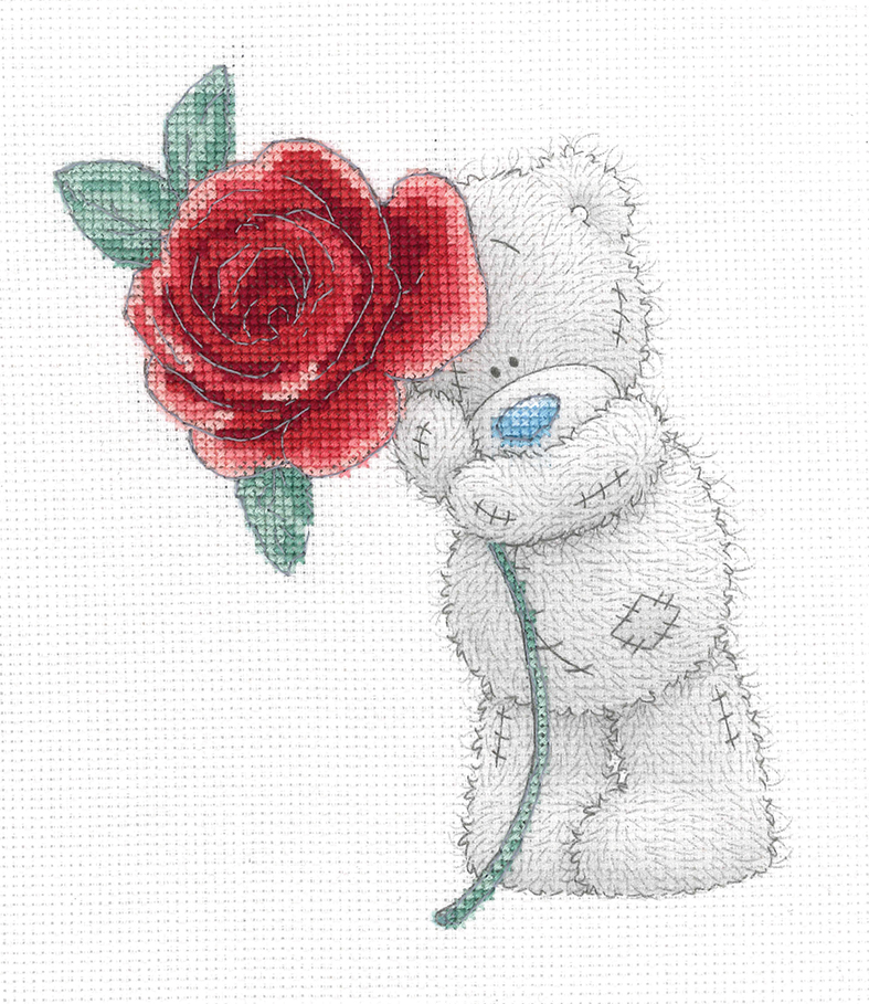 Rose -  Cross Stitch Kit