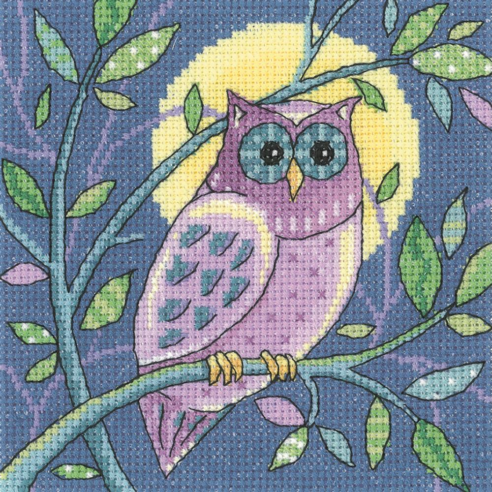 Heritage Owl - Aida Cross Stitch Kit
