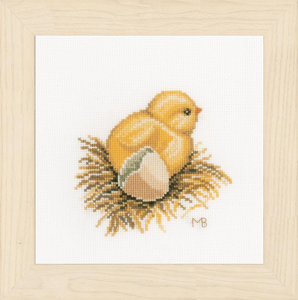 Lanarte Little Chick 1 Cross Stitch Kit