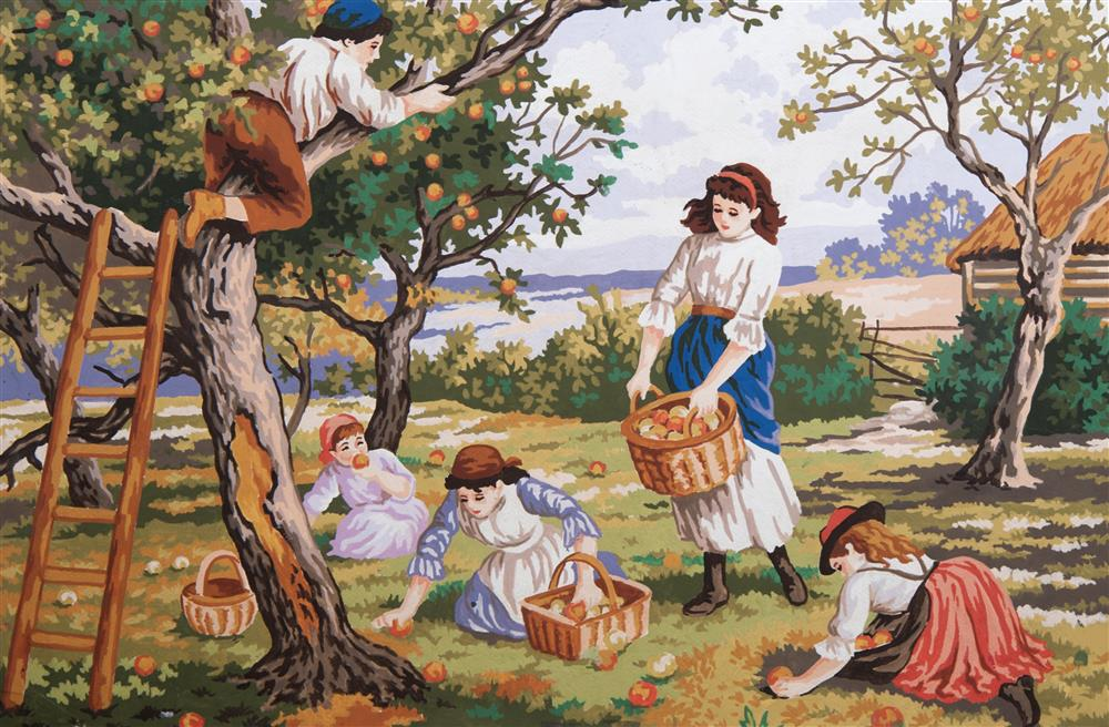 Orchard Days -  Tapestry Canvas