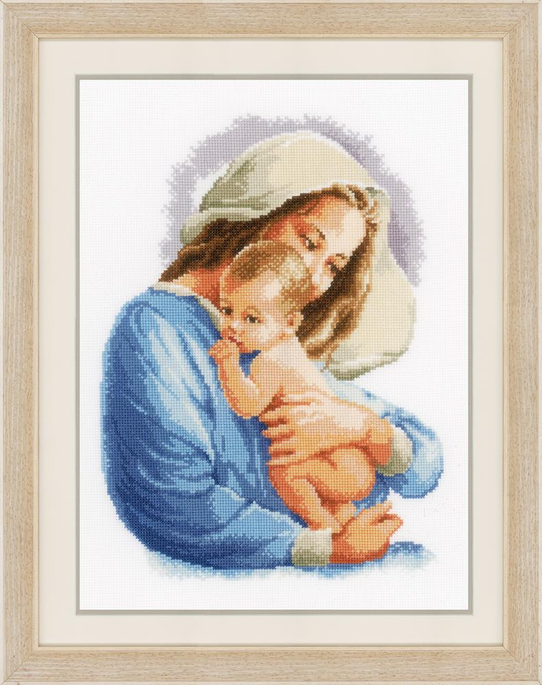 Vervaco Holy Mary Cross Stitch Kit