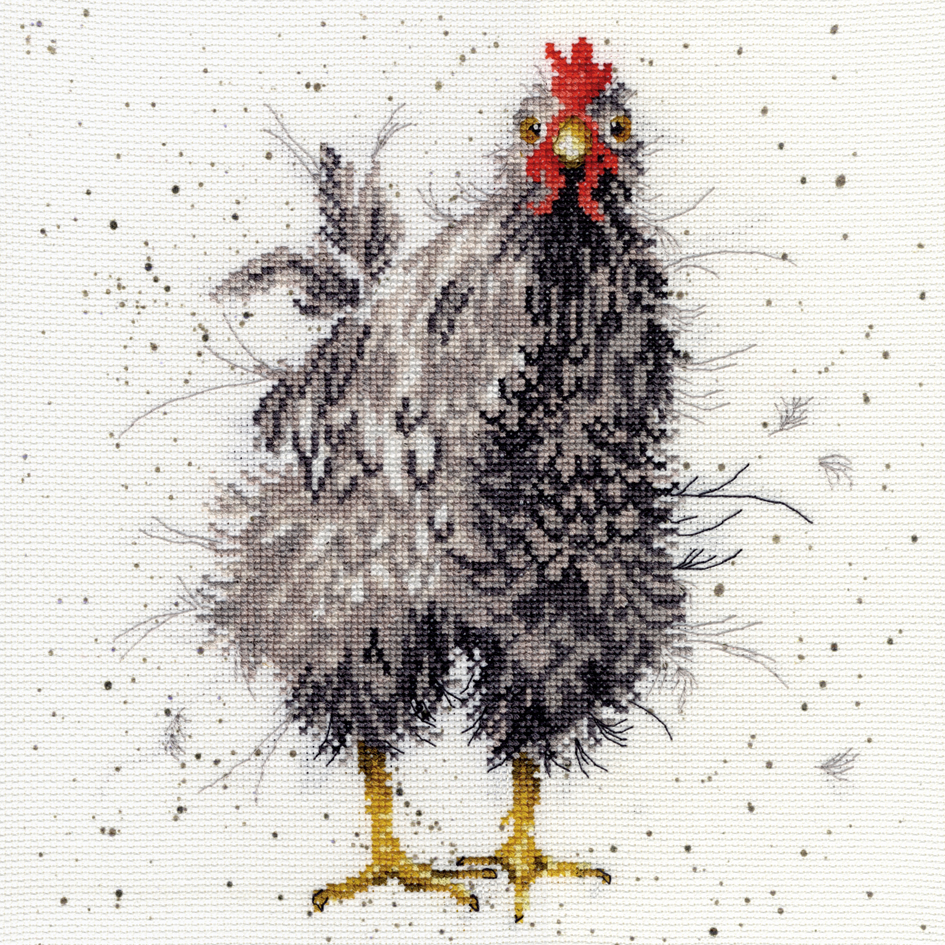 Bothy Threads Curious Hen Cross Stitch Kit