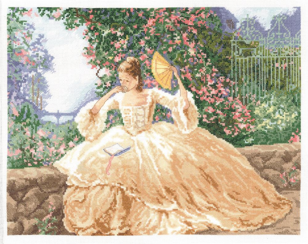 Ringlets and Roses -  Cross Stitch Kit