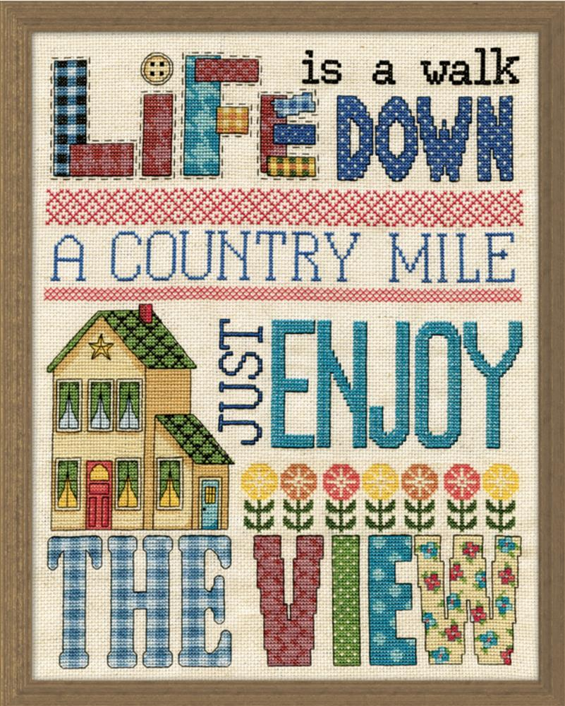 Country Mile -  Cross Stitch Kit