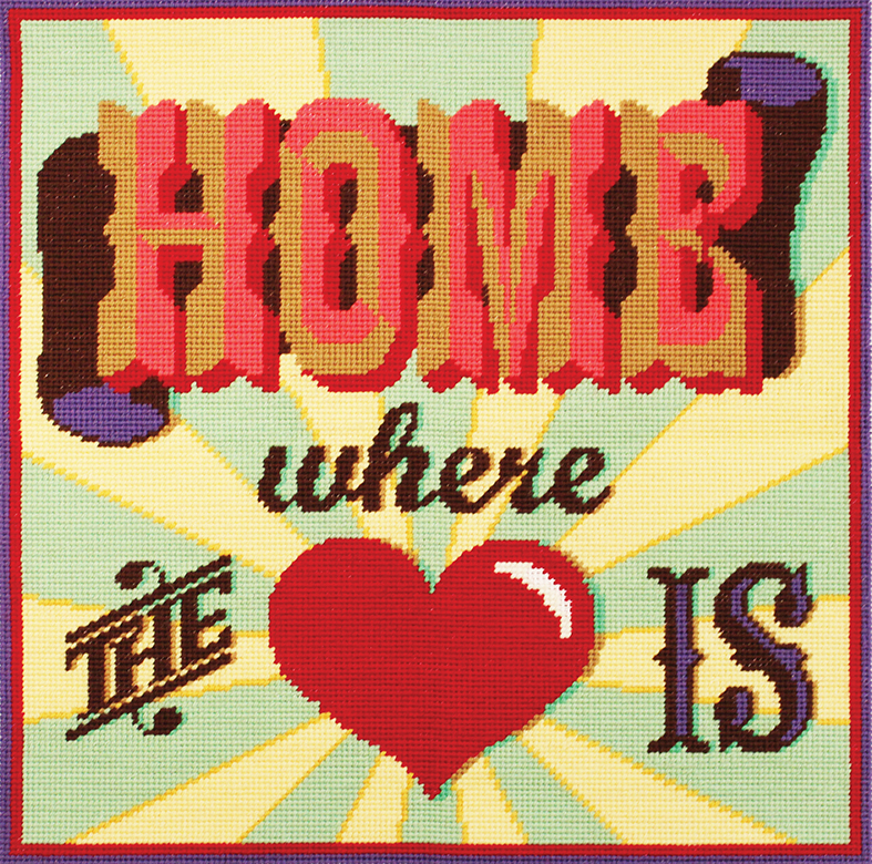 DMC Home Where the Heart Is Tapestry Kit