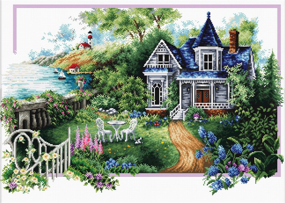 Summer Comes -  No Count Cross Stitch Kit