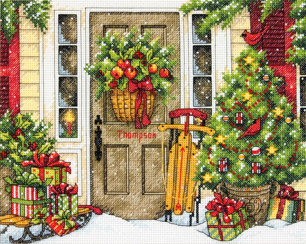 Home for the Holidays -  Christmas Cross Stitch Kit