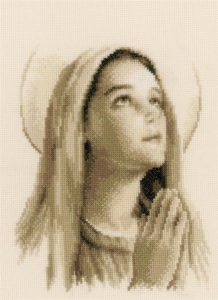 Vervaco Hail Mary Cross Stitch Kit