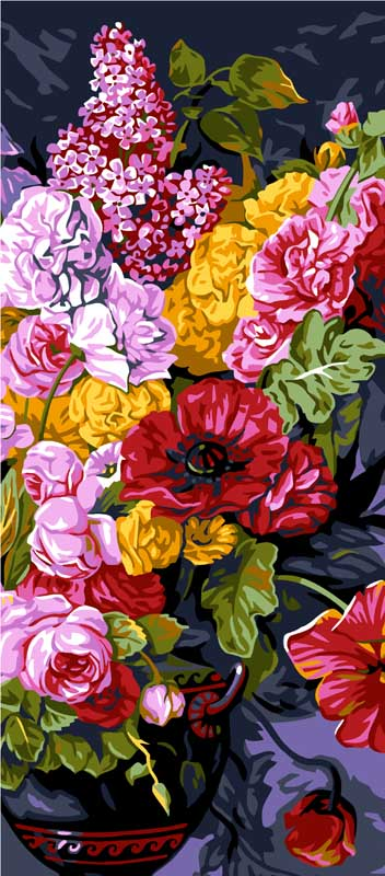 Bouquet Champetre -  Tapestry Canvas