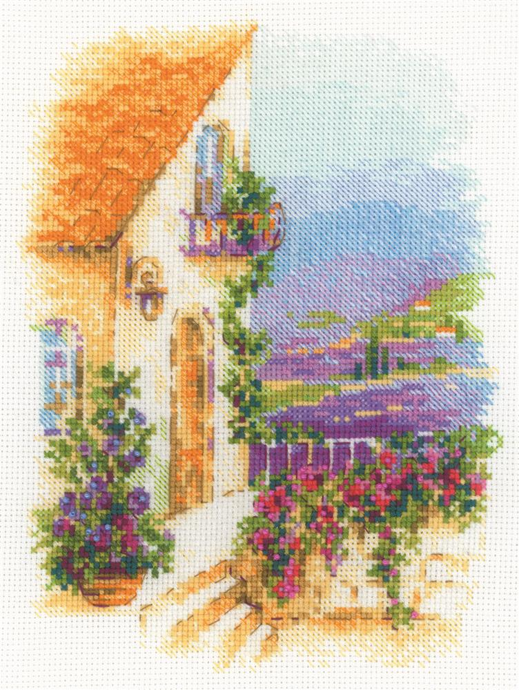 RIOLIS Provence Street Cross Stitch Kit