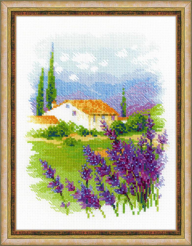 RIOLIS Farm in Provence Cross Stitch Kit