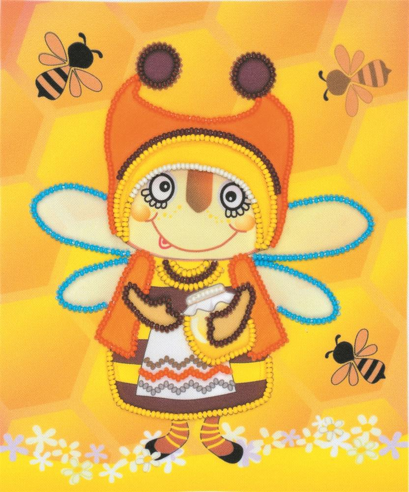 Granny Bee -  Embroidery Kit