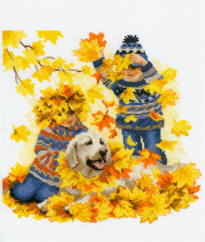 RIOLIS Autumn Holidays Cross Stitch Kit