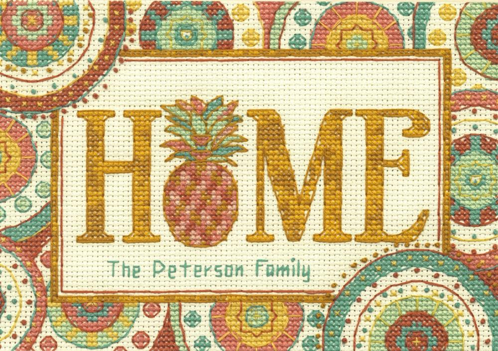 Counted Cross Stitch Kit Dimensions Pineapple Home D70-65179