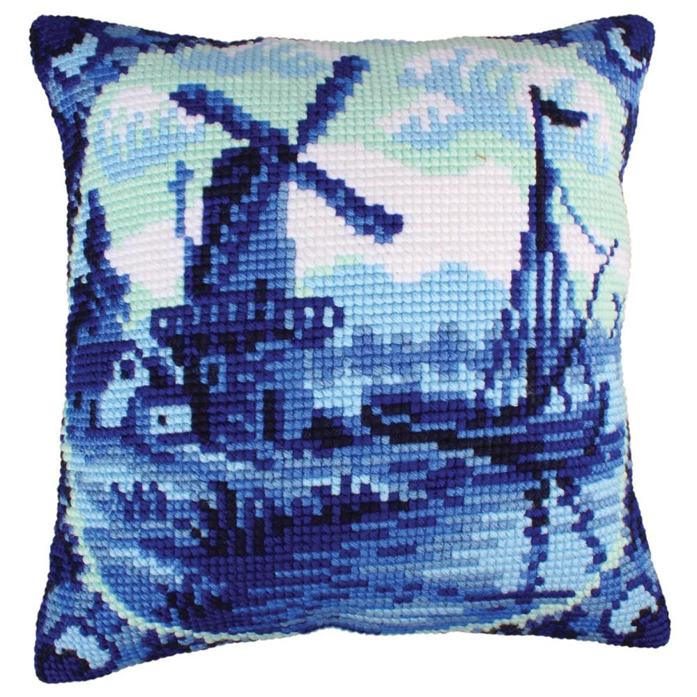 Collection D'Art Delftware - Windmill Cross Stitch Kit