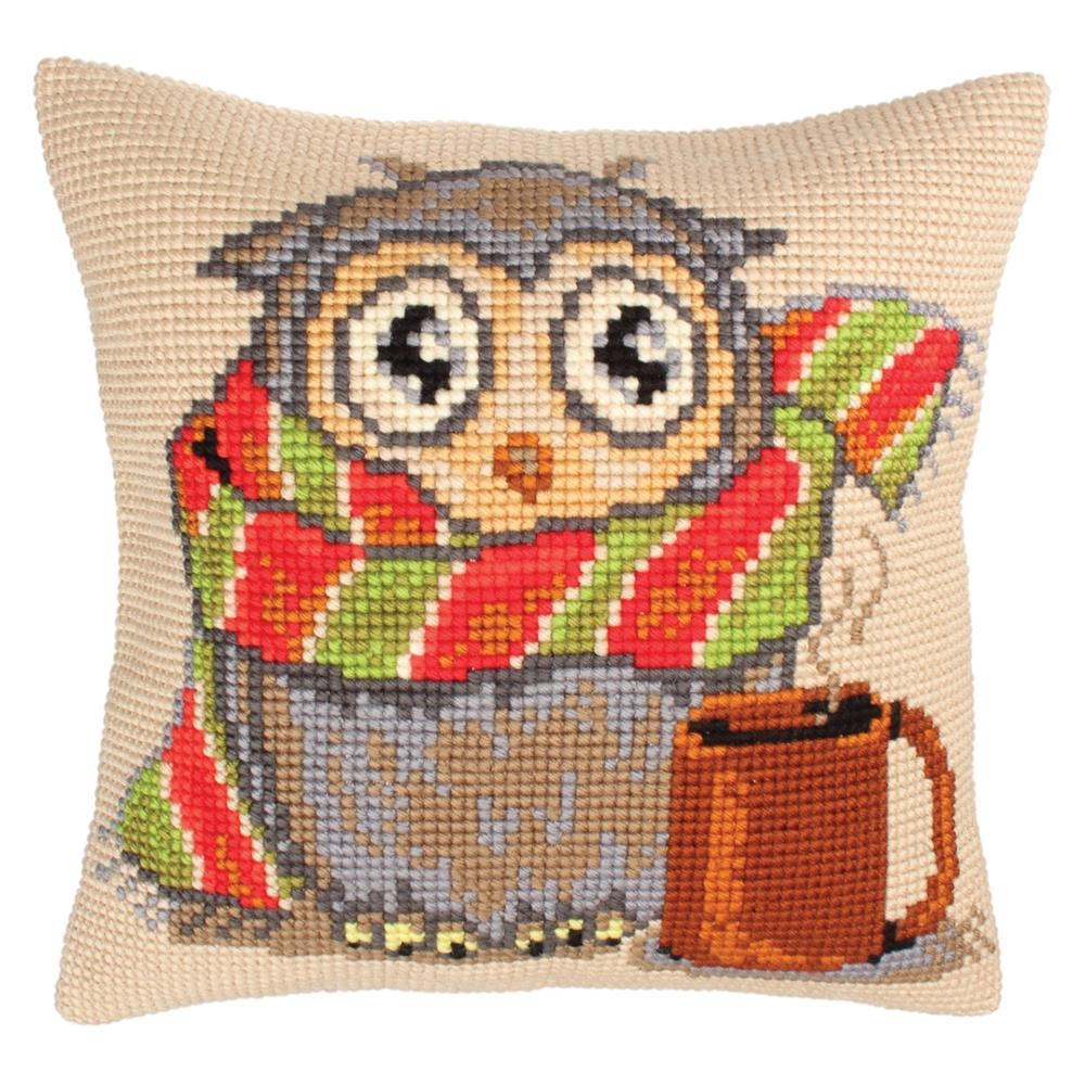 Collection D'Art Staying Home Cross Stitch Kit