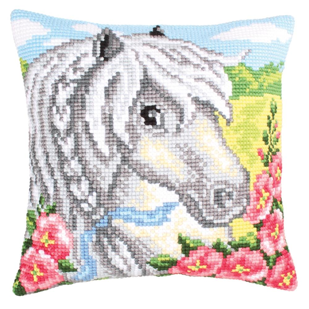 Collection D'Art White Horse Cross Stitch Kit