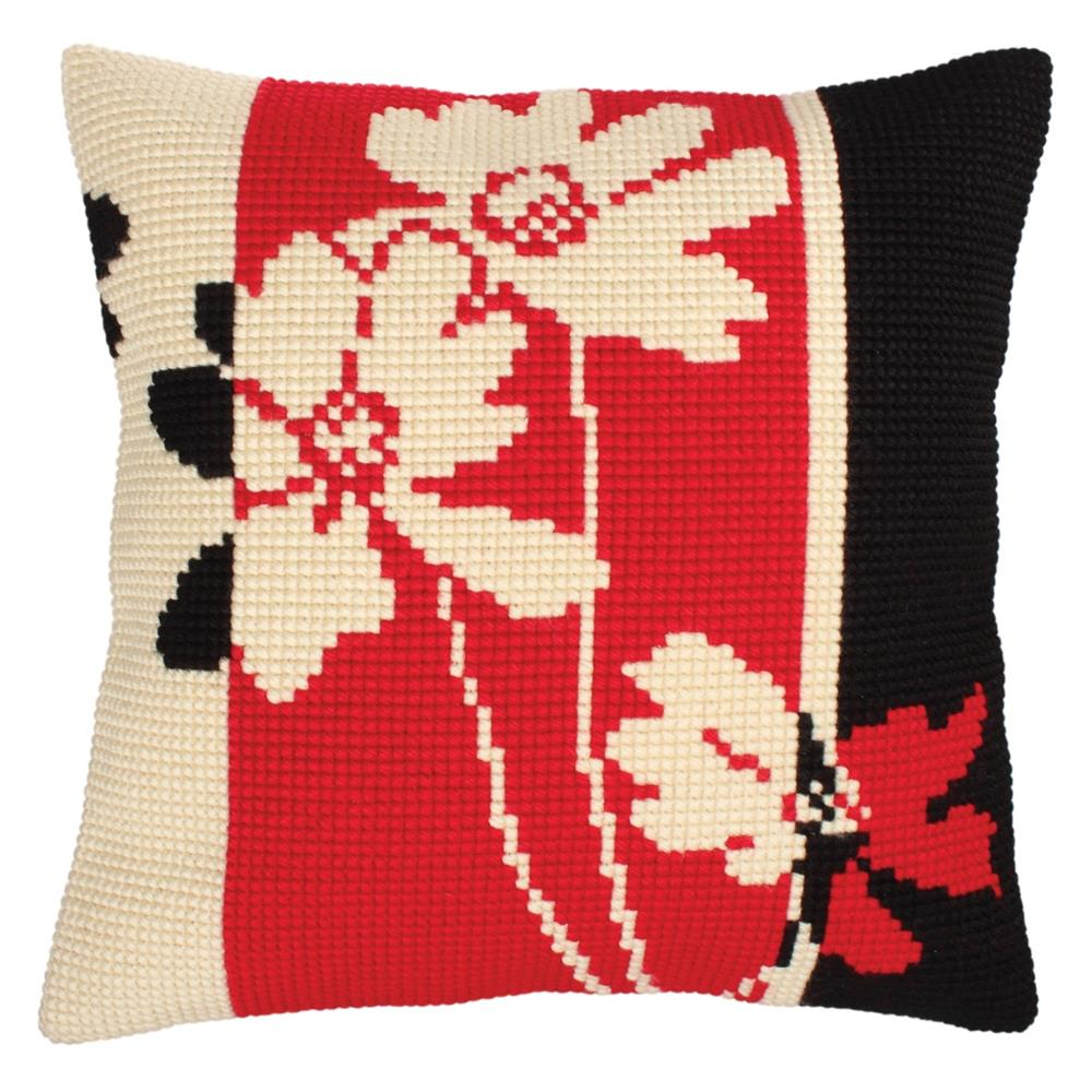 Collection D'Art Red & Black II Cross Stitch Kit