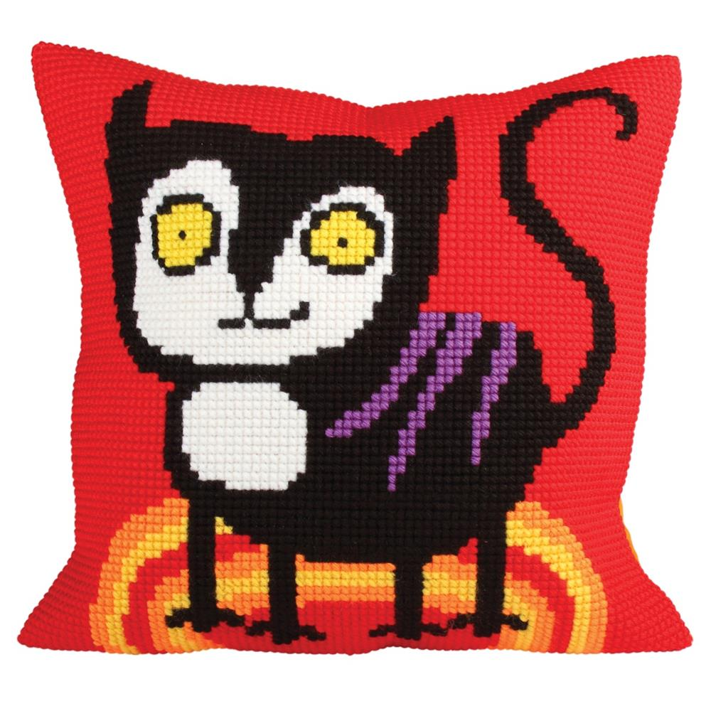 Collection D'Art Kitty Red Cross Stitch