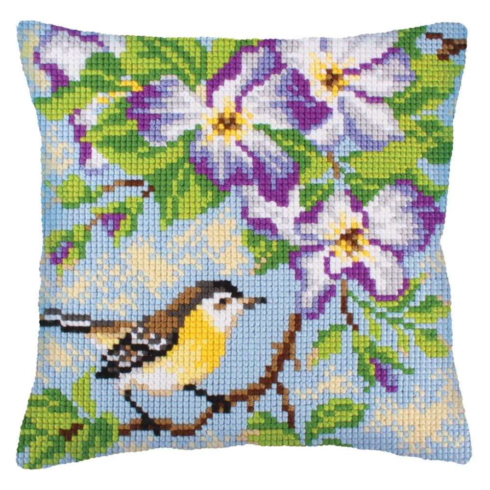 Collection D'Art Bird on Branch Cross Stitch Kit