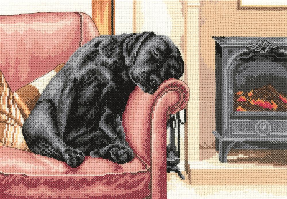 Heritage After the Walk - Evenweave Cross Stitch Kit