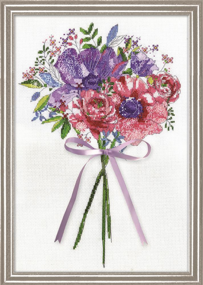 Design Works Crafts Flowers and Lace Cross Stitch Kit