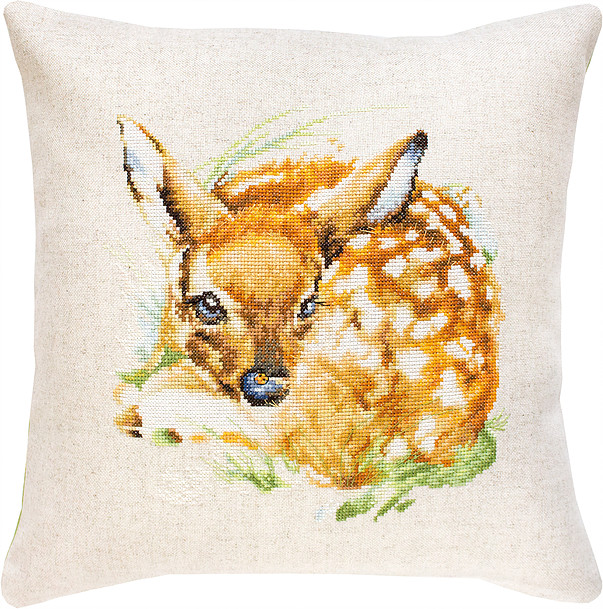 Fawn Cushion -  Cross Stitch Kit