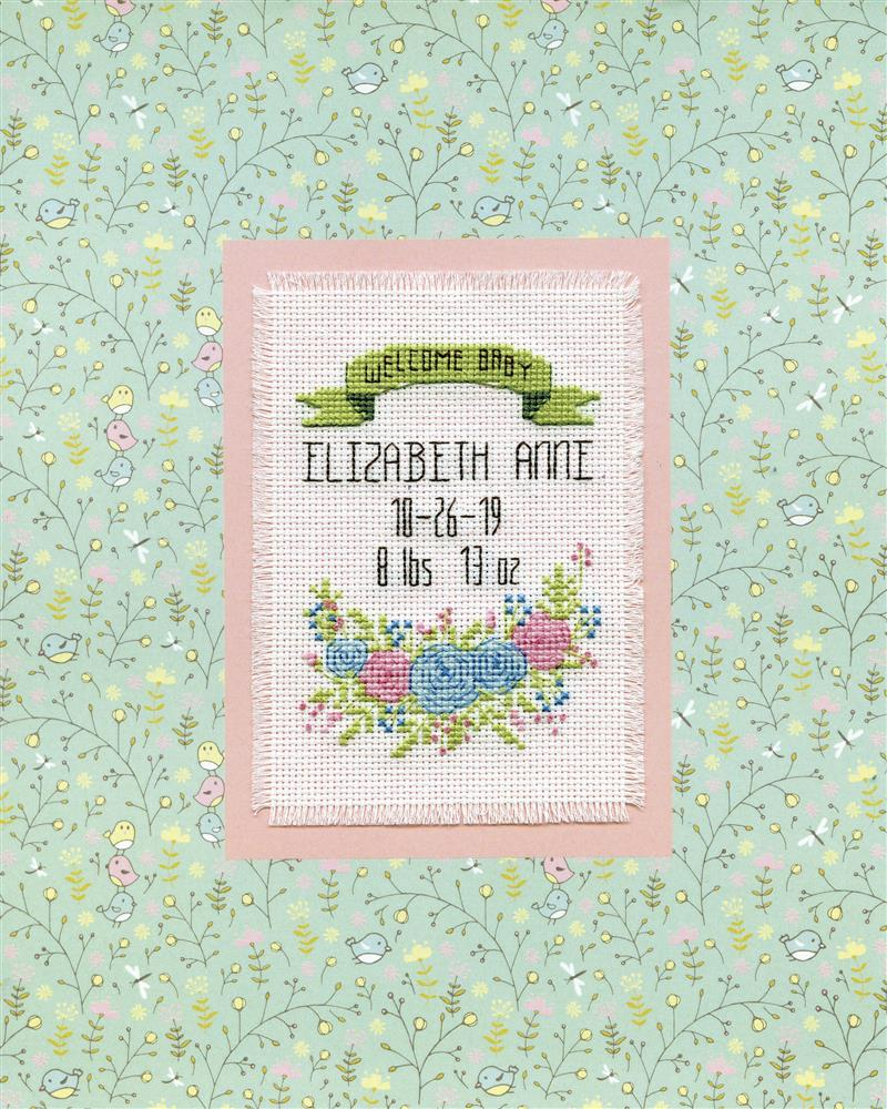 Welcome Baby -  Cross Stitch Kit