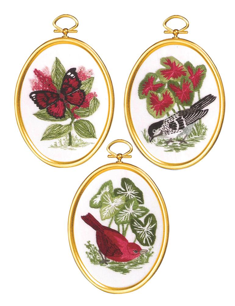 Natures Glory -  Embroidery Kit