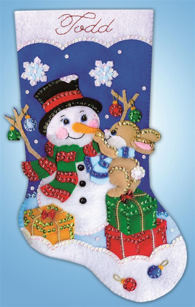 Design Works Crafts Busy Bunny Stocking Craft Kit