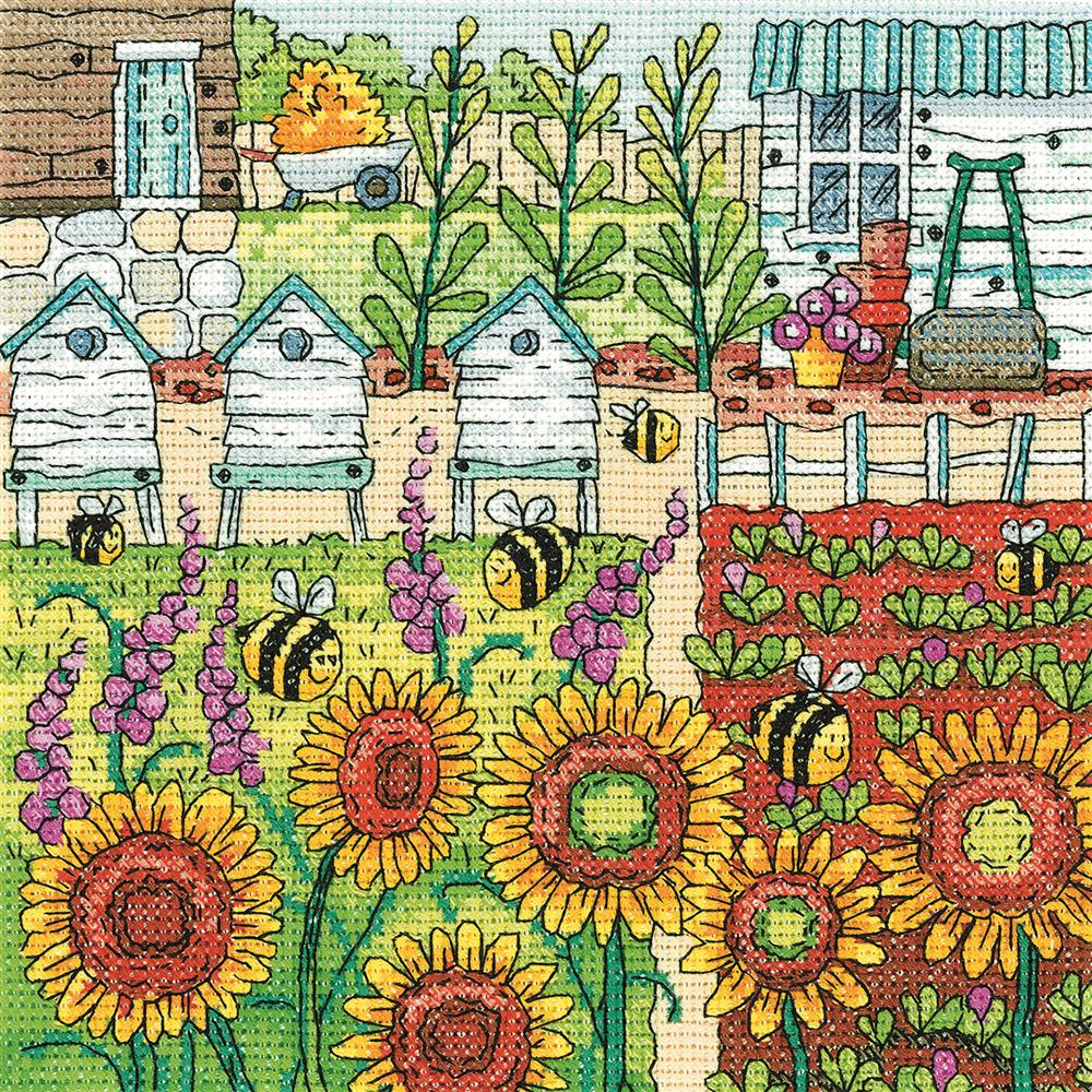 Heritage Making Honey - Evenweave Cross Stitch Kit