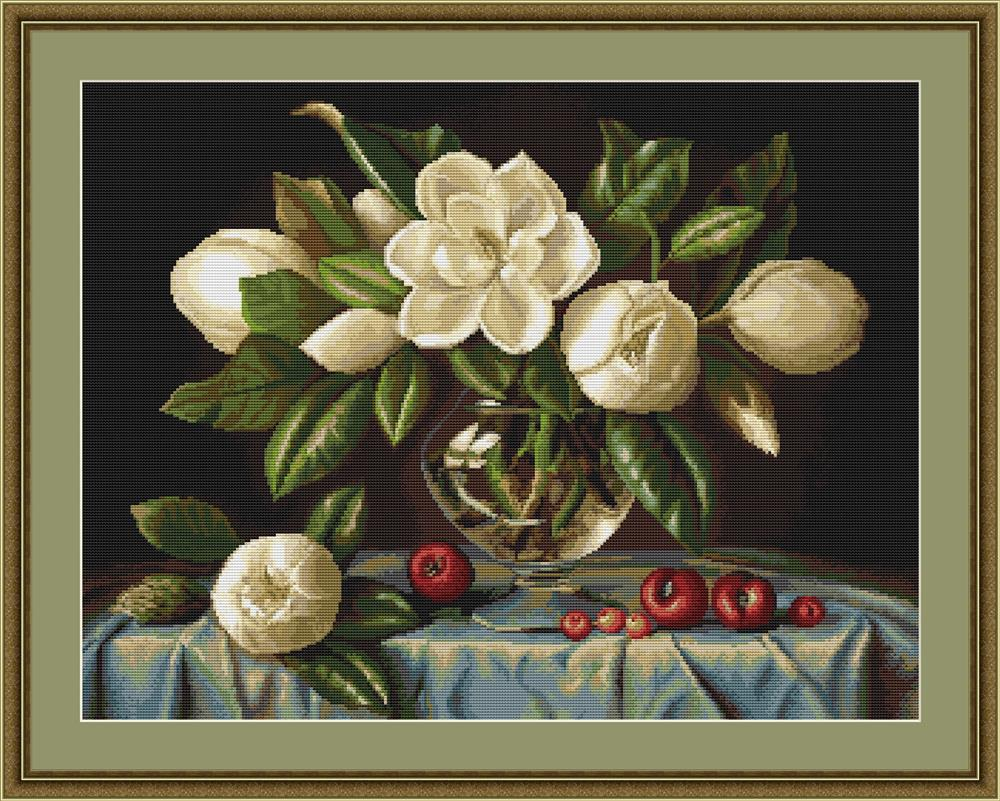 Luca-S Magnolia - Petit Point Tapestry Kit