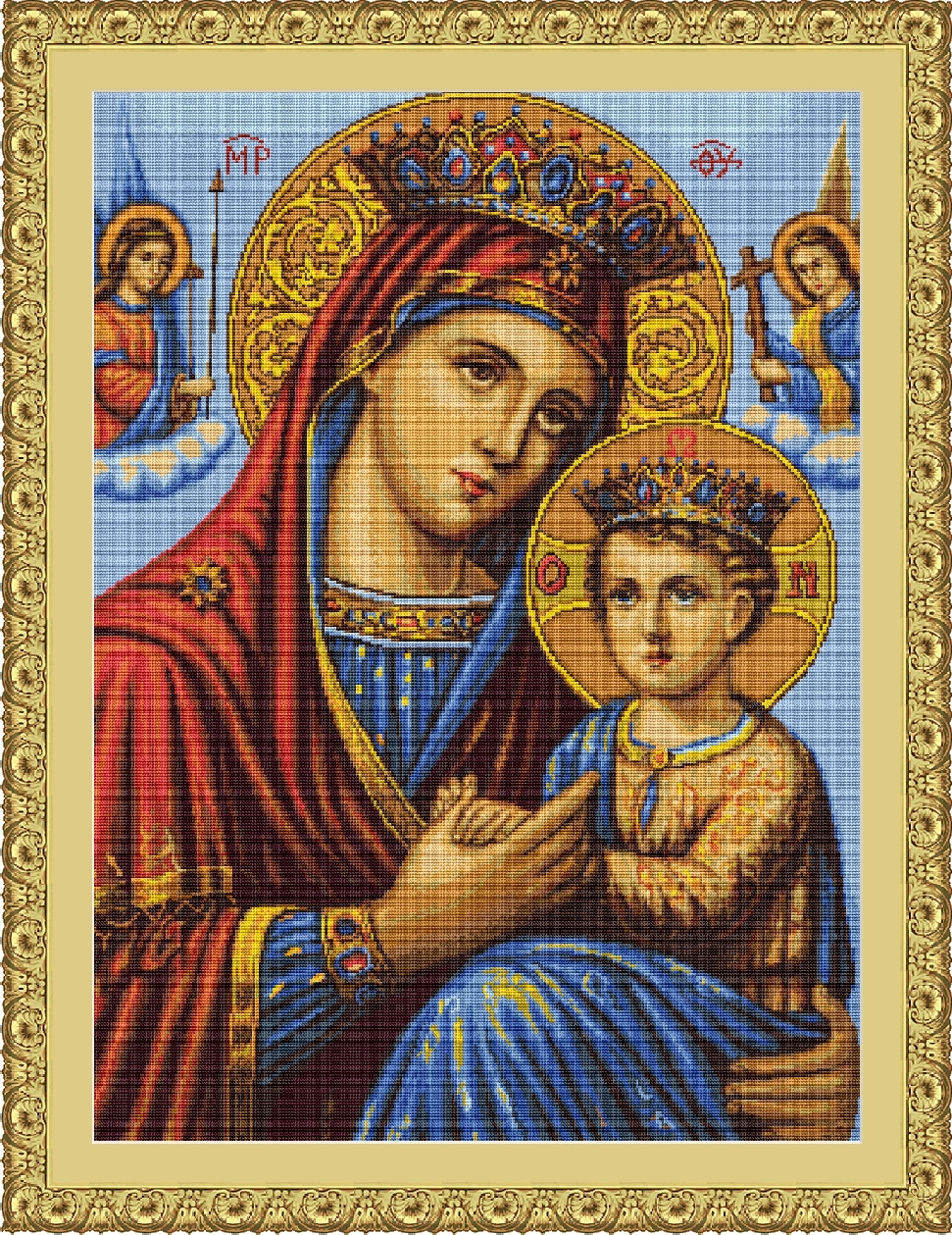 Icon Mother and Son - Petit Point -  Tapestry Kit