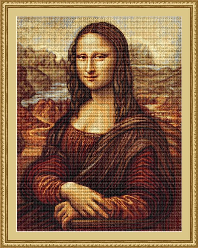 Mona Lisa - Petit Point -  Tapestry Kit