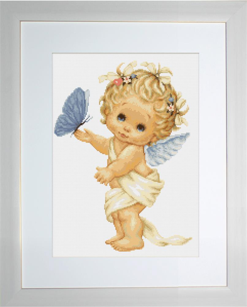 Luca-S Butterfly Angel - Petit Point Tapestry Kit